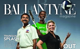 The cover of the 2012 Summer Ballantyne Magazine