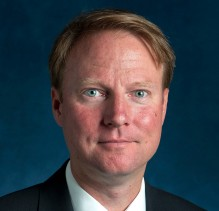 A headshot of Clifton Coble, President of Bissell Development