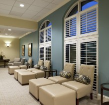 The Spa at Ballantyne ladies lounge