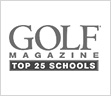 Top 25 Golf Schools logo