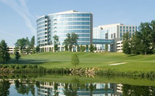 Outside view of Ballantyne Corporate Park