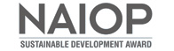 The NAIOP Sustainable Development Award logo